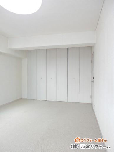 以前の洋室