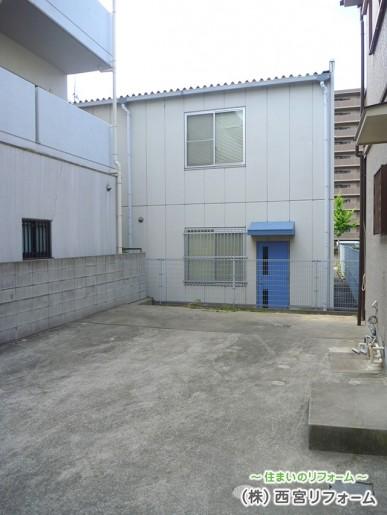 以前の駐車場