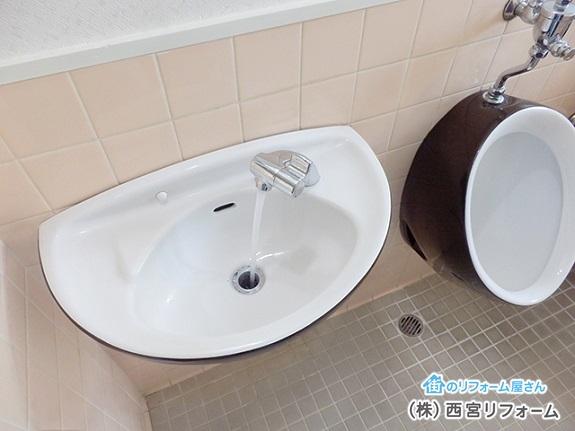 高齢者にも使いやすい水栓金具