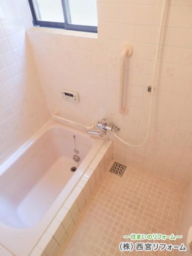 以前の在来浴室