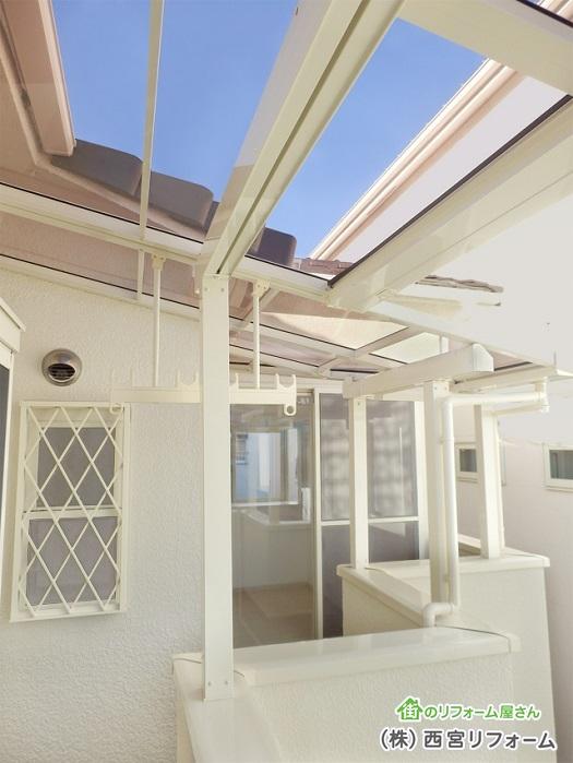 テラス屋根の設置