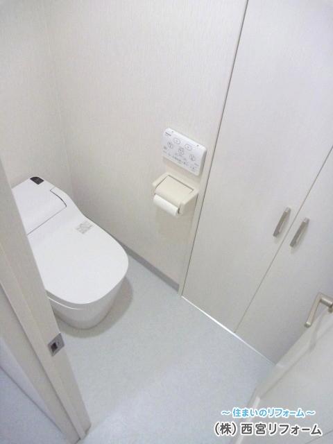 タンクレストイレの採用