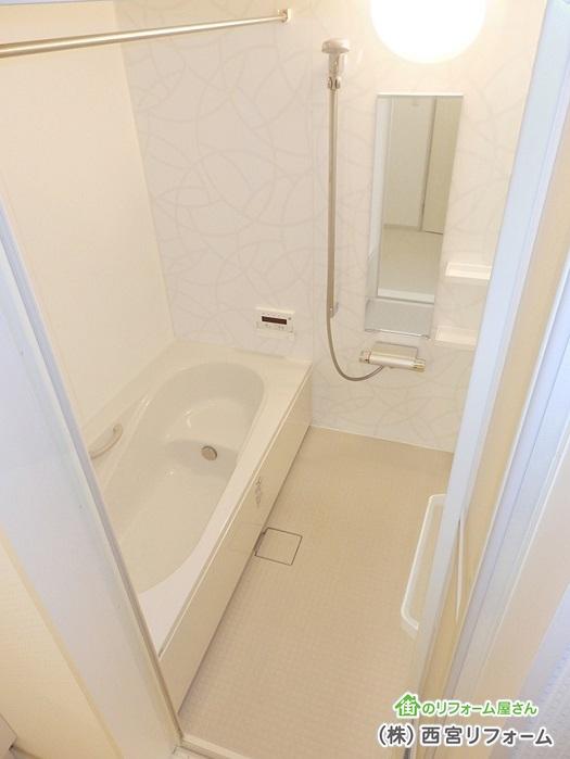 浴室換気乾燥暖房機の設置