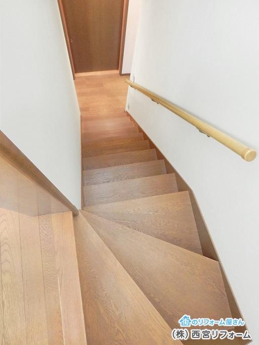 以前の階段
