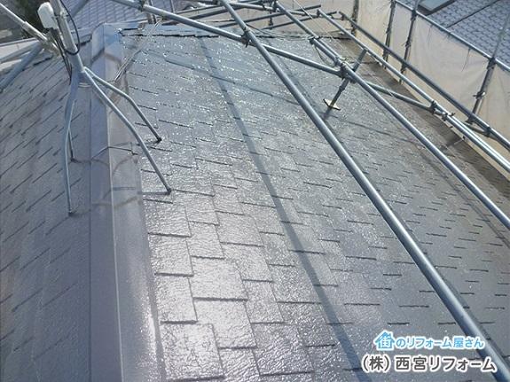 屋根の塗装はシリコン塗装