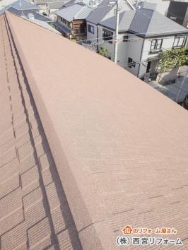 天然石付き鋼板屋根材のセネター