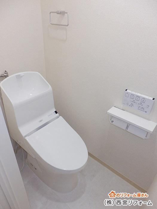 TOTOの節水トイレ HV・リモデル仕様