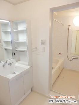 洗面所と浴室まわり