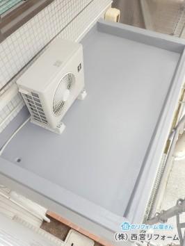 陸屋根部分のFRP防水