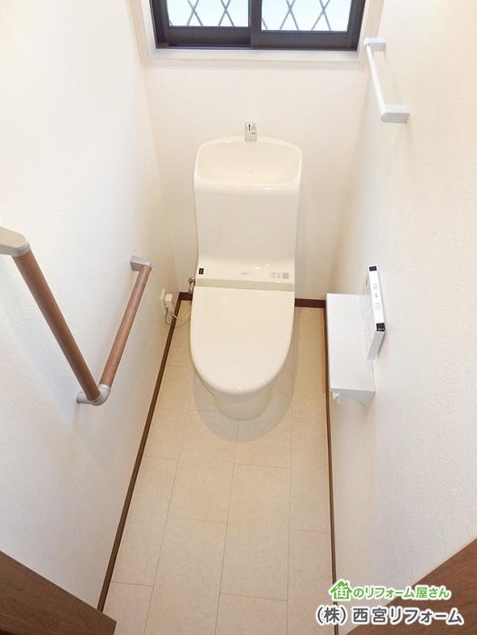 トイレのスペースを1帖分確保