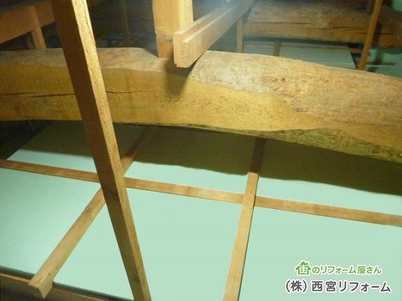 天井裏( 屋根裏 )の断熱材の入れ替え