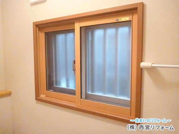 インナーサッシ(内窓)の設置