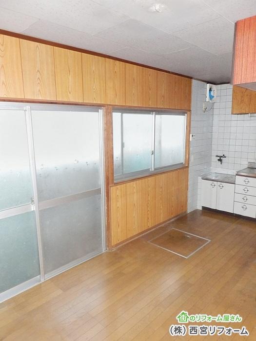 以前のキッチン部分
